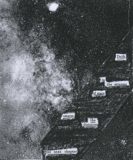 "Sir Arthur Eddington's ""Stellar Movements and the Structure of the Universe"" (1914) redacted into a poem in honor of his Dec. 28 birthday.  The background image is from the book cover."