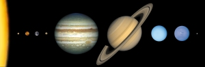 Our solar system.  Image credit: NASA. Congress is currently considering NASA's FY14 budget.  Support planetary sciences by contacting your congressman or congresswoman or tweet your support to #fundPlanetary.