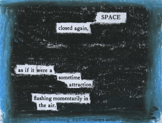 "The U.S. government shutdown which began on Oct. 1, 2013 has impacted many government agencies, including NASA.  For this poem, I redacted an old text, ""A Columbus of Space,"" by Garrett Putman Serviss (1911)."