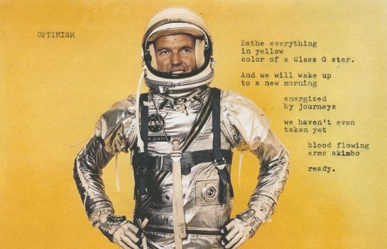 Image of Gordon Cooper in Project Mercury suit.  Image credit: NASA.